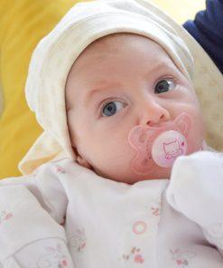 Elektroszmog elleni natúr babasapka