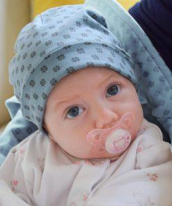 Elektroszmog elleni kék babasapka